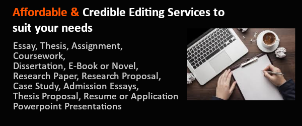 affordabale essay editing services UK